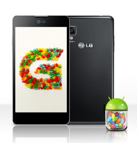 LG Jelly Bean Optimus G