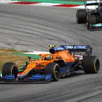 La gran revelación de Lando Norris: tres podios en 2021 con su McLaren y por delante de un Mercedes en la general
