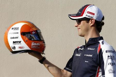 Bruno Senna: espero que mi nuevo casco me traiga suerte