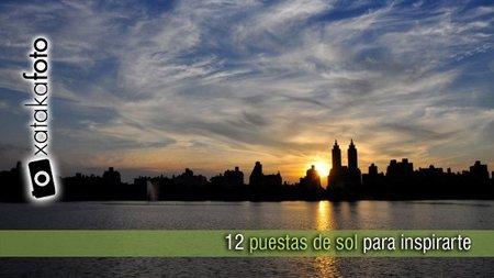 12 puestas de sol para inspirarte