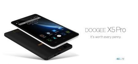 Smartphone Doogee X5 Pro 16GB por 58,95 euros y envío gratis