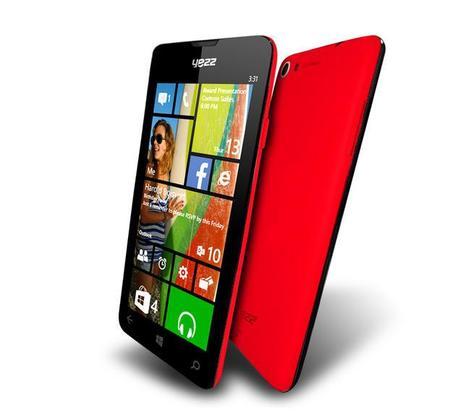 """Yezz presenta dos nuevos Windows Phone de bajo precio llamado """"Billy"""""""