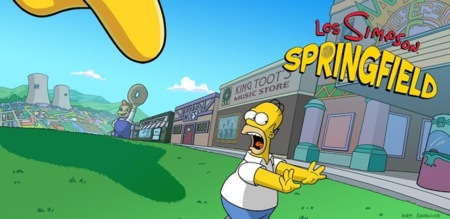 Los Simpson: Springfield ya disponible para Android
