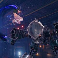 Estas son las armas de Yuffie en el DLC INTERmission de Final Fantasy VII Remake