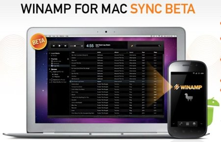 Winamp en OS X y Android