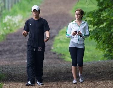 Qué Emma Watson igual se nos ha echado churri, atención al dato...