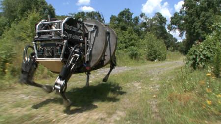 El ejército de Estados Unidos le dice adiós a la mula de carga robótica LS3