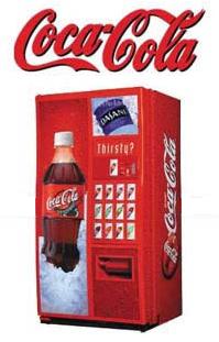 Máquinas vending de Coca Cola con energía solar