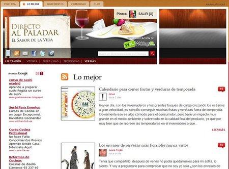 """Nuevas funciones en Directo al Paladar: pestaña con """"Lo mejor"""" y más integración con Facebook"""