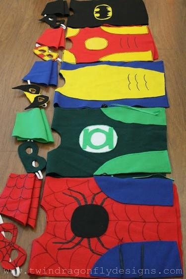Unas cuantas ideas para disfrazar a vuestros peques en Carnaval