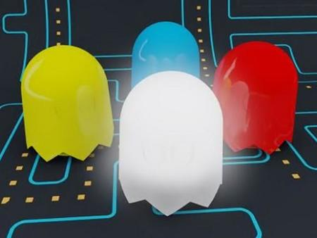 80's Ghost, una lámpara Pac-man