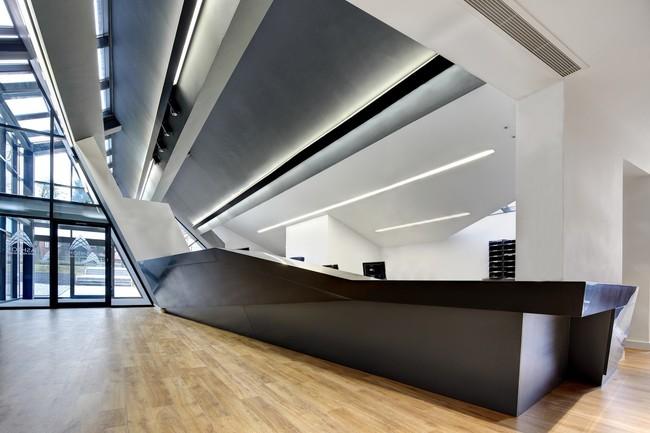 Espacios Para Trabajar Espectacular Edificio Y Recepcion Del Ashton Sixth Form College21366 2000