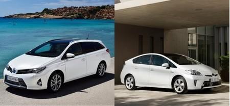 Cara a cara, Toyota Prius contra Toyota Auris Touring Sports híbrido