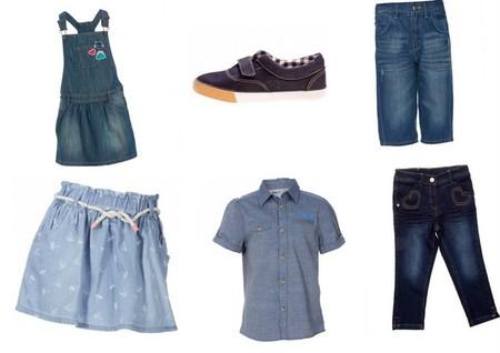 kiabi ropa denim niños y niñas