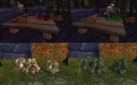 World Of Warcraft Comparacion Versiones Original Y China