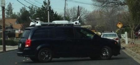 Con estos coches Apple está creando su propio sistema de Street View para Mapas