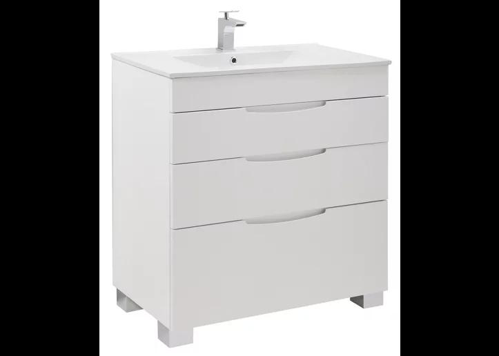 Mueble de baño Asimétrico blanco