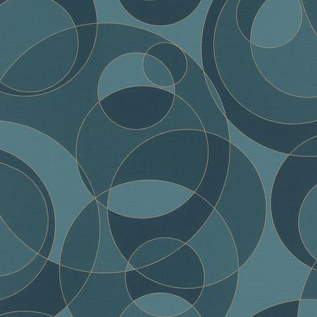 Papel pintado con círculos