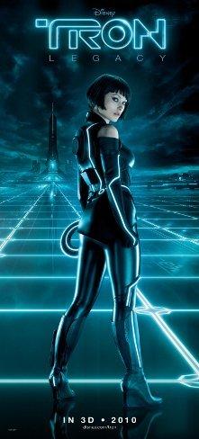 El maquillaje de Olivia Wilde en Tron Legacy