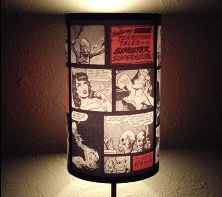 Lámpara de comic, ilumina tus viñetas favoritas