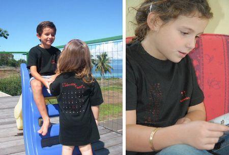 Camiseta Braille