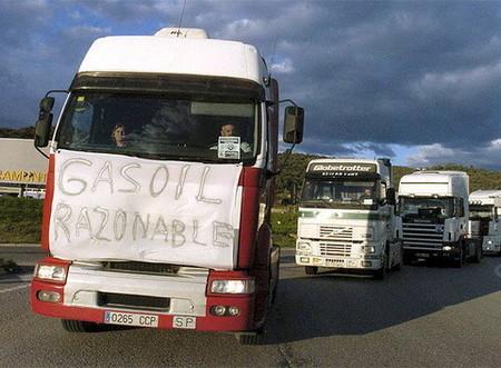 La huelga del transporte y la excusa del precio del gasoil