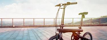 La Xiaomi QiCYCLE llega a España en forma de bicicleta eléctrica plegable con 45 km de autonomía y por menos de 900 euros