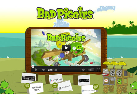 Sitio Bad Piggies