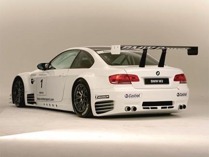 BMW M3 de competición para ALMS, las fotos oficiales