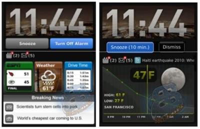 BlackBerry OS 6.0, posibles primeras imágenes evidencian similitudes con Android