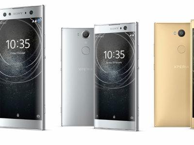 Sony Xperia XA2, Xperia XA2 Ultra y Xperia L2: la doble cámara frontal se integra en el diseño más tradicional