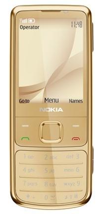 Nokia 6700 classic Gold Edition, el oro como toque de diseño
