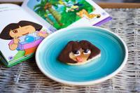 Cocinar con niños: Pancakes de Dora la Exploradora