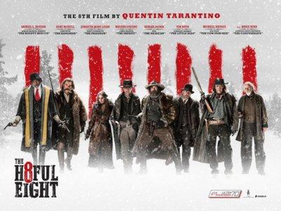 'Los odiosos ocho' de Tarantino se estrenará el 15 de enero en España