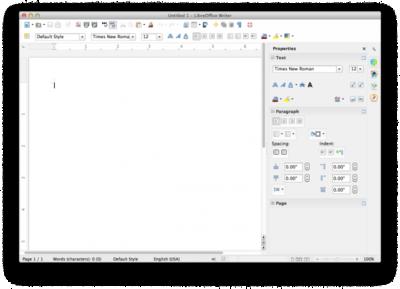 Lanzado LibreOffice 4.1, con la sidebar de OpenOffice.org y más mejoras