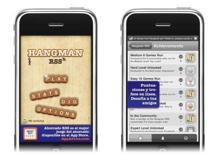 Hangman RSS, el conocido juego del ahorcado también para iPhone o iPod Touch