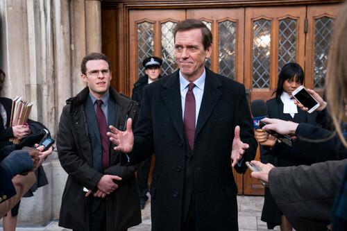 'Roadkill': un fantástico Hugh Laurie protagoniza el melancólico retrato de un ministro en la miniserie de Movistar+