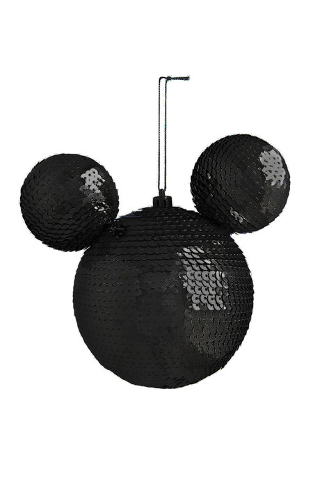 Kimball 8136802 Large Mickey Bauble Sequin Black Grade Missing Wk 1 Gbp5 Eur5