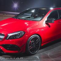 Mercedes-AMG A 45 4Matic 2015: el Clase A más deportivo ahora tiene 381 CV