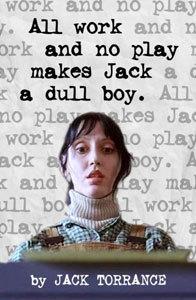 Un fan edita el libro de Jack Torrance en 'El resplandor'