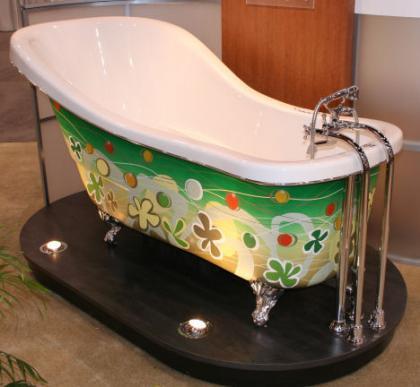 Unas bañeras particulares