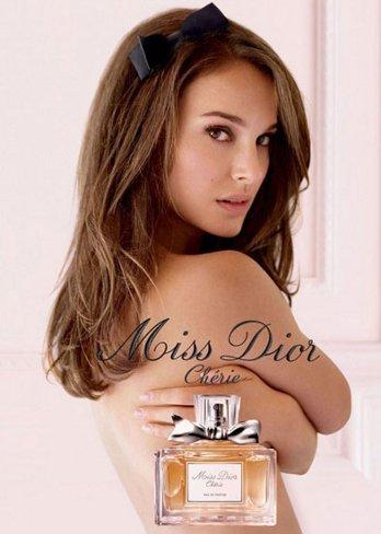 Natalie Portman es el nuevo rostro de Miss Dior Chérie