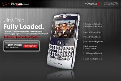 El Motorola Q, por 200 dólares