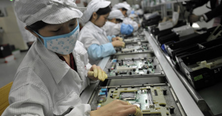 Foxconn Assembly Line