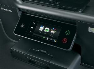 Lexmark Prestige Pro805 con pantalla táctil y Wifi, haciendo útiles las impresoras