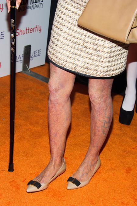 Heidi Klum piernas Halloween disfraz