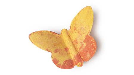 Butterfly Orange Yellow Bath Bomb Spring 2018