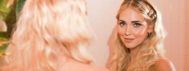 El eyeliner con pedrería sigue siendo cool, palabra de Chiara Ferragni y su look al más puro estilo Sirenita