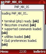 Linux en el navegador del teléfono
