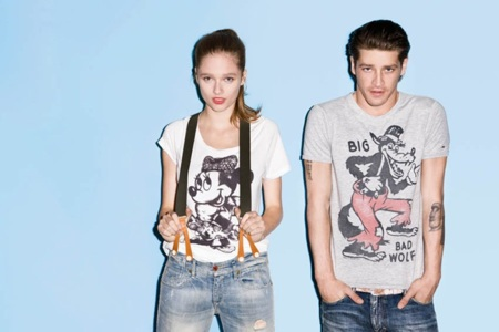 Disney en las camisetas de Tommy Hilfiger